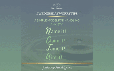 WEEK 10 – A model for handling anxiety