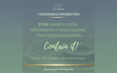 WEEK 11 – Find a container for anxiety