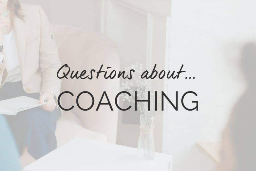 F.A.Q questions about coaching